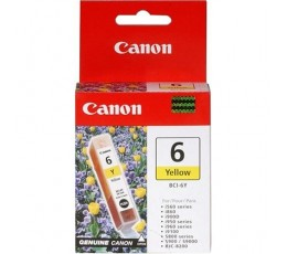 Canon BCI-6Y Yellow Ink Cartridge Original