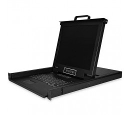 "StarTech.com 16-Port Rackmount KVM Console with 17"" Display"