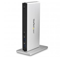 StarTech.com Dual-Monitor USB 3.0 Docking Station with DVI and Vertical Stand