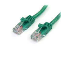 StarTech.com Cat5e patch cable with snagless RJ45 connectors – 6 ft, green