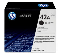 HP 42X Original Black 1 pc(s)