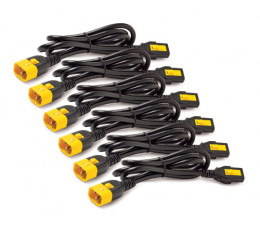APC AP8706S-NA power cable Black,Yellow 1.8 m C13 coupler C14 coupler