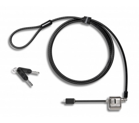 Lenovo 4X90H35558 cable lock Black,Stainless steel 1.83 m