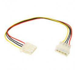 C2G 14in Internal Power Extension Cable 5.25in Connector Multicolor 0.356 m