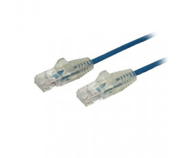 StarTech.com 1 ft. CAT6 Ethernet Cable - Slim - Snagless RJ45 Connectors - Blue