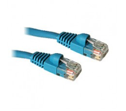 C2G 1ft Cat5E 350MHz Snagless Patch Cable Blue networking cable 0.3 m