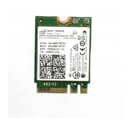 Intel Dual Band Wireless-AC 7265 WLAN / Bluetooth 867 Mbit/s Internal