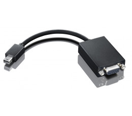 Lenovo 0A36536 cable interface/gender adapter mini-DisplayPort VGA Black