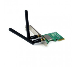 StarTech.com PCI Express Wireless N Adapter - 300 Mbps PCIe 802.11 b/g/n Network Adapter Card – 2T2R 2.2 dBi