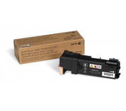 Xerox Genuine Phaser 6500 / WorkCentre 6505 Black High Capacity Toner Cartridge (3,000 pages) - 106R01597