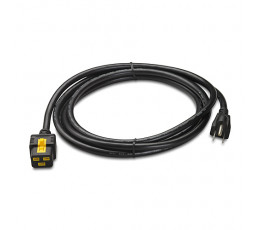APC AP8750 power cable Black 3.05 m NEMA 5-15P