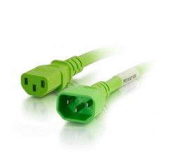 C2G 17567 power cable Green 3 m C14 coupler C13 coupler
