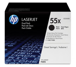 HP 55X Original Black 2 pc(s)