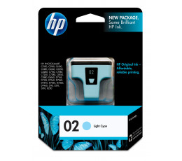 HP 02 Light Cyan Original 1 pc(s)
