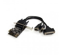 StarTech.com 2S1P PCI Express Serial Parallel Combo Card with Breakout Cable