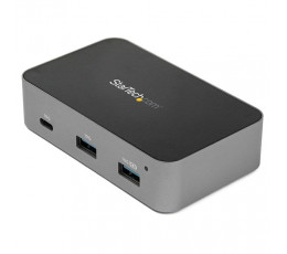 StarTech.com 3 Port USB C 3.1 Gen 2 Hub with Ethernet Adapter - 10Gbps USB Type C to 2x USB-A & 1x USB-C Ports - USB Hub w/ BC 1.2 Phone Fast Charging - Superspeed 10Gbps USB C Hub