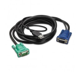 APC AP5821 KVM cable 1.8 m Black